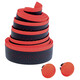 Cinelli Fluo Handelbar Tape red/black